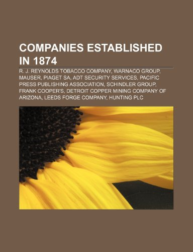companies-established-in-1874-r-j-rey-r-j-reynolds-tobacco-company-warnaco-group-mauser-piaget-sa-ad