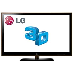 LG 55LX6500 55-Inch 3D 1080p 240  Hz LED Plus LCD HDTV, Espresso (2010 Model)