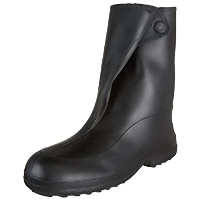 Tingley Rubber 1400 10-Inch Rubber Overshoe with Button Boot, Large