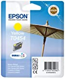 Epson Genuine T0454 Yellow Ink Cartridge - Epson durabrite stylus TO454 ink yellow cartridge for C64/84/CX6400