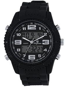 Burgmeister Men's BM900-622 Military Analog-Digital Watch