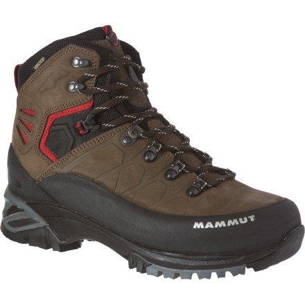 0b939d987315 The Features Mammut Pacific Crest GTX Boot Men s Dark Brown Fire US 9 0 UK  8 0 -