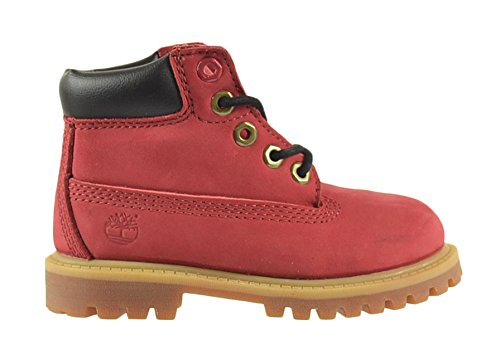 """Timberland 6 Inch Premium Waterproof """"Helcor"""" Baby Toddlers Boots Red 6588R (9 M Us) front-1018278"""