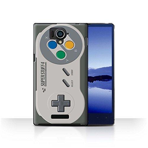 STUFF4 Phone Case / Cover for Sharp Aquos Xx 304SH / Super Nintendo Design / Games Console Collection (Sharp Aquos Nintendo Case compare prices)
