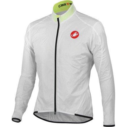Buy Low Price Castelli Leggero Jacket – Men's White, XL (10084-001-5)