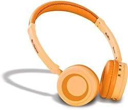 iDance Blue 50 Headphone-Orange