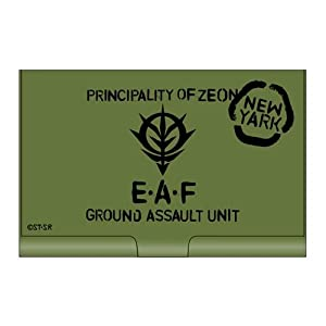 Card Case Mobile Suit Gundam Zeon Army Towards Earth[japan Imports]