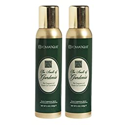 Two (2) Aromatique 5 Ounce Room Fragrance Sprays - The Smell of Gardenia