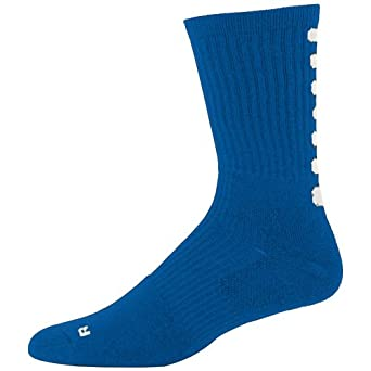 Color Block Crew Socks, Support in Areas of the Foot That Are Susceptible to Rubbing. by Augusta