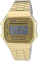 Casio Men's Dress watch #A168WG9