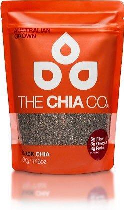 The Chia Co チアシード 黒 500g