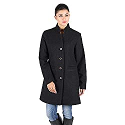Black Check Wool Coat 2