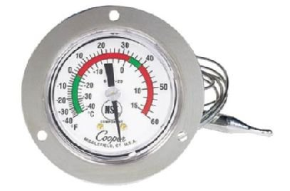 Cooper-Atkins 6142-20-3J Vapor Tension Thermometer -40°F-60°F Temperature Range (Cooper Atkins Oven compare prices)