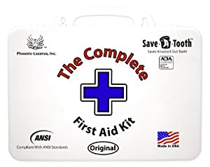The Complete First Aid Kit Ansi First Aid Kit, White