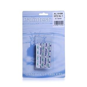 DPD1 comprimés réactifs chlore piscine spa X50 Palintest