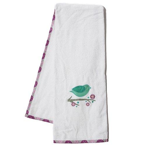Pam Grace Creations Towel Set, Lovebird Lavender front-579407