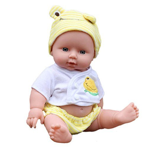 UEB Reborn Baby Doll Soft Vinyl Silicone Lifelike Baby toy for Girl Gift