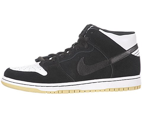 Nike Men&#8217;s Dunk Mid Pro SB Blk Gum Style # 314383-013