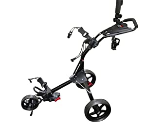 Izzo Golf The Dart Compact Push Cart by IZZO Golf