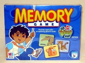 shopping list memory game instructions
