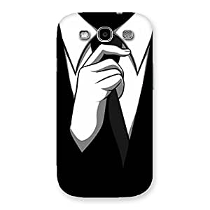 Stylish Knotting Tie Multicolor Back Case Cover for Galaxy S3 Neo