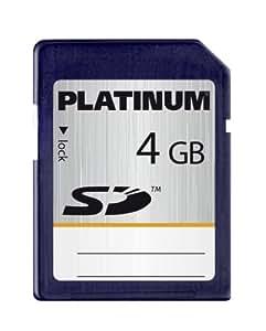 Platinum - Carte Mémoire SD - 4 Go
