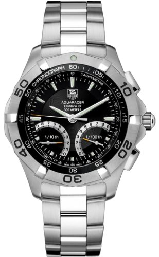 Tag Heuer Aquaracer Calibre S Chronograph Mens Watch CAF7010.BA0815 Wrist Watch (Wristwatch)