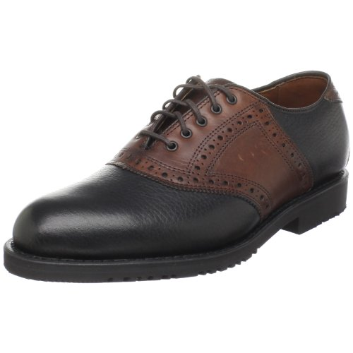 Allen Edmonds Men's The Links Oxford ,Black/Brown,11 E US