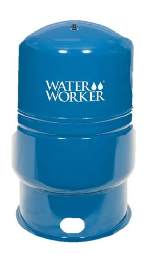 WaterWorker HT-86B Vertical Pressure Well Tank, 86-Gallon Capacity, Blue