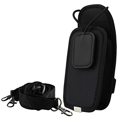 abcGoodefg Universal Adjustable 2-Way Radio Holster/ Walkie talkie Carrying Case/ Pouch Bag Handsfree Case for CB Ham Radio (03) (Walkie Talkie Harness compare prices)