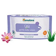 Himalaya Herbals Gentle Baby Wipes (72 Pieces)