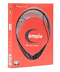 Ample e comm Bluetooth Stereo Headset (Black)