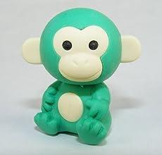Green Monkey Japanese Erasers 2 Pack