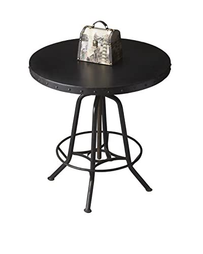 Butler Specialty Company Hall/Pub Table, Black Iron