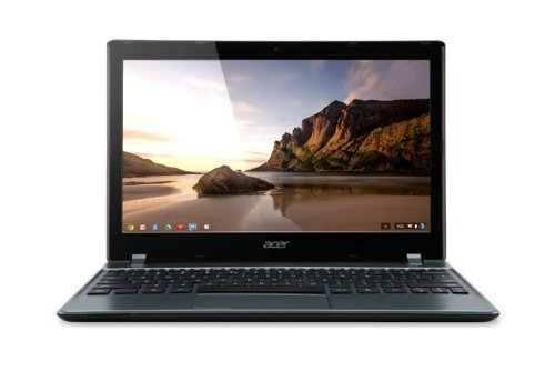 Acer C7 Chromebook (Gloss Grey)-(11.6 inch, Intel Celeron 847 1.1GHz, 2GB RAM, 320GB HDD, WLAN, BT, Webcam, Integrated Graphics, Chrome OS)