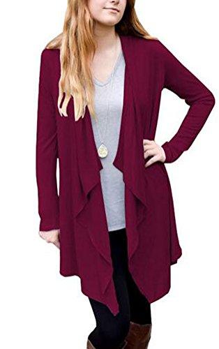 SunIfSnow -  Cappotto  - Impermeabile - Basic - Maniche lunghe  - Donna Purple Medium