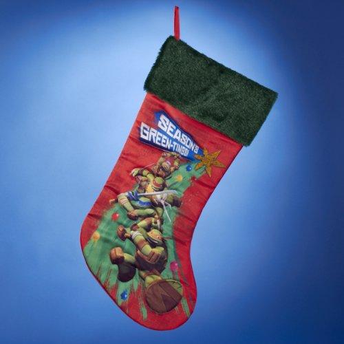 Teenage Mutant Ninja Turtles Printed Stocking, 19-Inch - 1