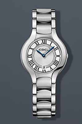 "EBEL Women's 1216037 ""Beluga"" Stainless Steel Watch with Link Bracelet"