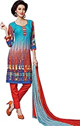 Sanvan Soft Cotton Printed Salwar Suit Dress Material_SV256SF
