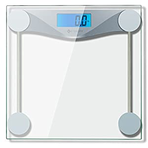 Etekcity Digital Body Weight Scale with Step-On Technology , 400 Pounds