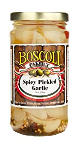 Spicy Pickled Garlic from Boscoli Foods