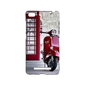 Bluedio Designer Printed Back Case / Back Cover for Xiaomi Mi4i (Multicolour)