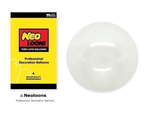 Neo-LOONS-5-Pastel-Clear-Premium-Latex-Balloons-Great-for-Kids-Adult-Birthdays-Weddings-Receptions-Baby-Showers-Water-Fights-or-Any-Celebration-Pack-of-100