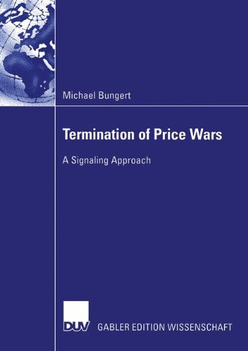 Termination of Price Wars: A Signaling Approach