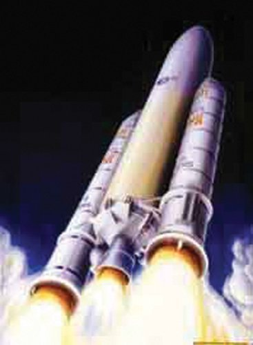 Heller-Ariane-5-European-Space-Agency-Heavy-Launch-Spacecraft-Model-Building-Kit-by-Heller