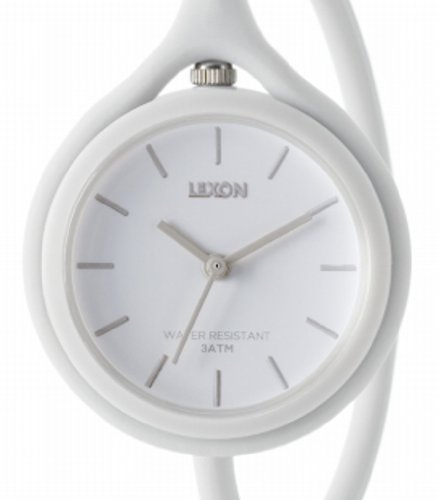 Lexon - Take Time Armbanduhr, weiß