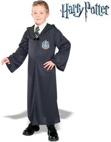 Child Harry Potter Slytherin Malfoy Costume Small 4-6 front-500262