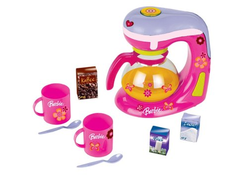 Theo Klein 9592 - Barbie Kaffeemaschine, Set