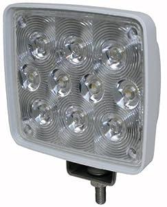 TH Marine LED-51888-DP 10 LED Spreader Light Bar, White by TH Marine
