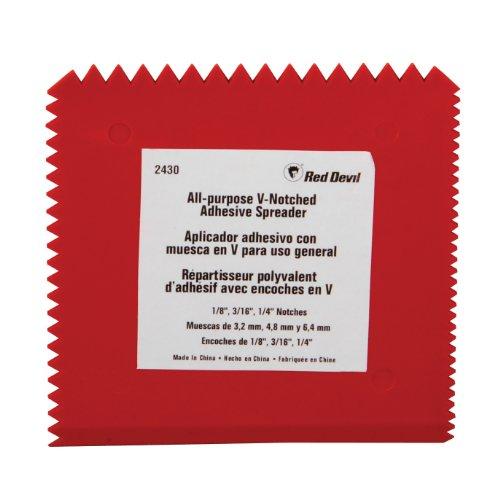 red-devil-2430-multi-notch-plastic-adhesive-spreader